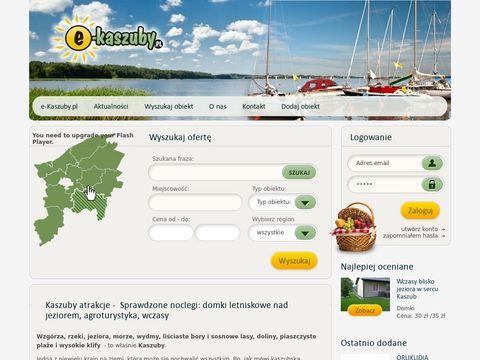 E-Kaszuby.pl - noclegi, wczasy, agroturystyka