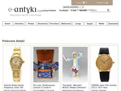 E-antyki.com Stare srebrne sztućce