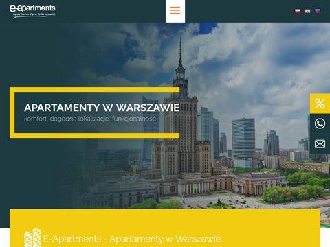 E-apartments.waw.pl noclegi w centrum Warszawy