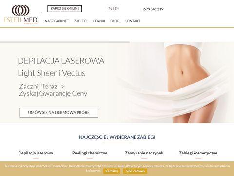 Manicure i pedicure, gabinet Estetimed - Warszawa