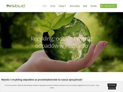 Esbud.pl - przetwarzanie sprzętu elektrycznego