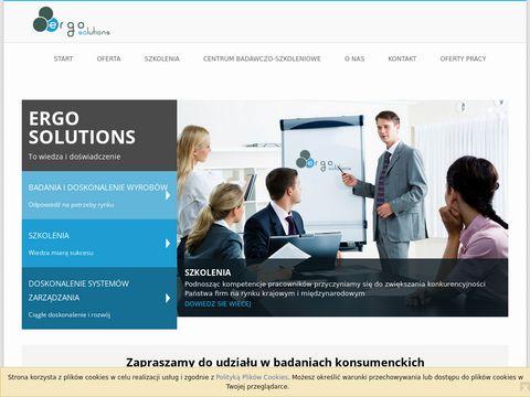 Ergosol.pl analiza sensoryczna żywności