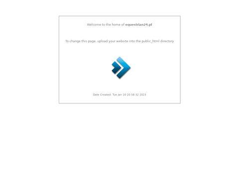 Equestrian24.pl ogłoszenia sprzętu jeździeckiego