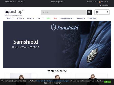 Equishop.com sprzęt do jazdy konnej