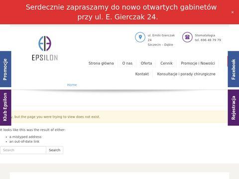 Epsilon kosmetyczka Szczecin Dąbie