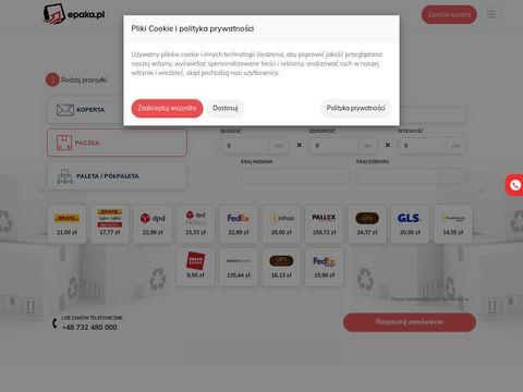 Epaka.pl - centrum przesyłek kurierskich