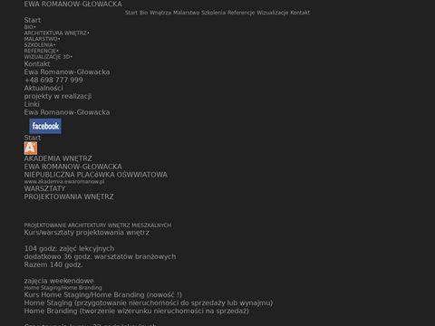 Ewaromanow.pl projekty domów Wrocław