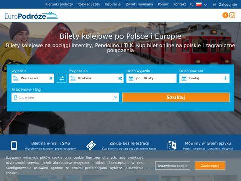 Europodroze.pl kolejowe Europa