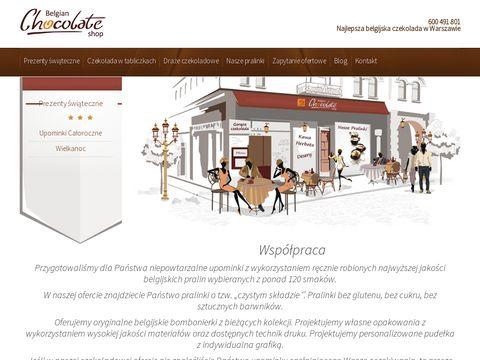 Eurogift.pl belgijska czekolada