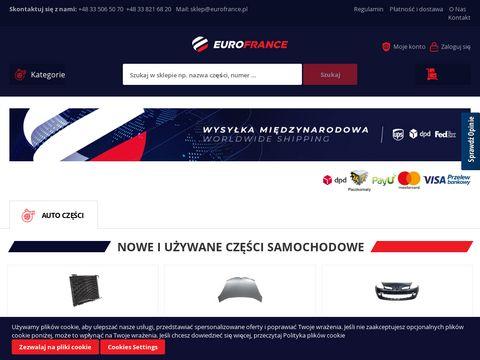Eurofrance.pl części do aut Renault