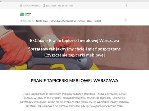 Exclean.pl firma sprzątająca Warszawa