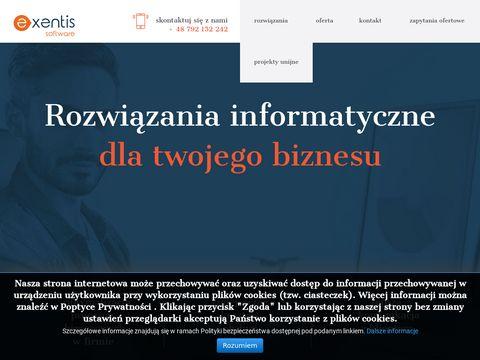 Exentis - Pozycjonowanie stron www