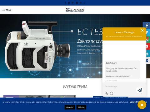 EC Test Systems pomiary