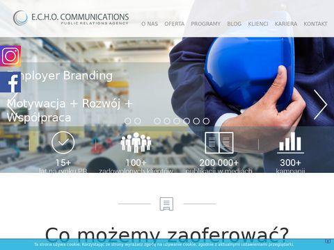 E.C.H.O. Communications agencja PR