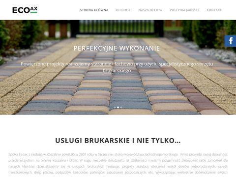 EcoAx domy letniskowe Szczecin