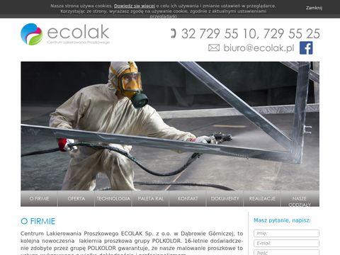 Ecolak - malowanie proszkowe Śląsk