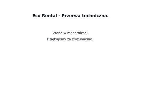 Eco Rental wypozyczalnia samochodów