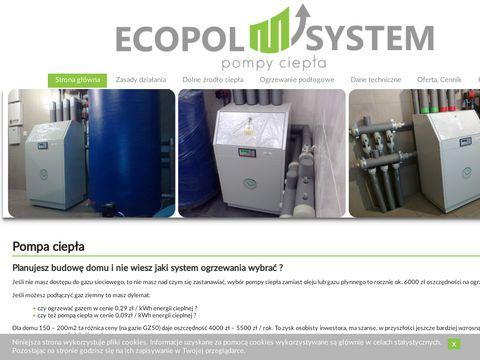 Ecopol-system.pl pompy ciepła producent i dostawca
