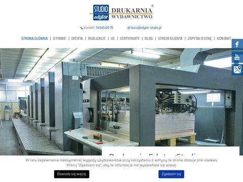 Studio Edytor druk katalogów Wrocław