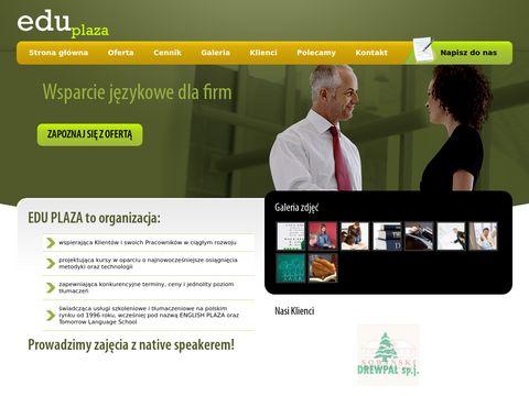 Angielski - Eduplaza Kalisz
