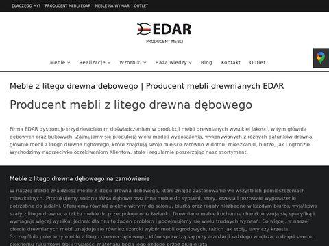 Edar.com.pl meble drewniane producent łóżka