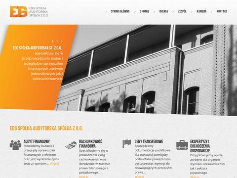 EDG - ceny transferowe, biuro rachunkowe Poznań