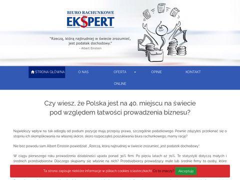 Ekspertspj.pl biuro księgowe Warszawa Bemowo