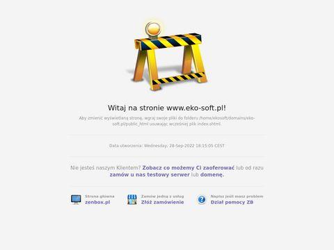 Eko-Soft - Program do ewidencji odpadów