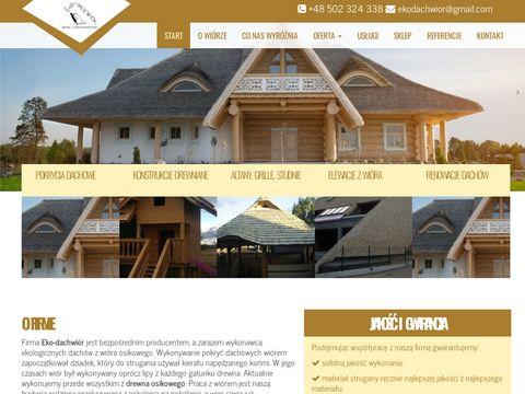 Eko-Dachwiór - domy z bali