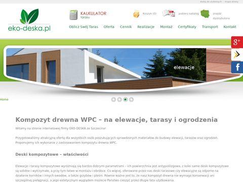 Eko-deska.pl - deska kompozytowa