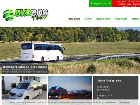 EkoBus przewóz osób Płock