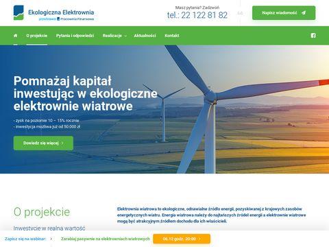 Ekologicznaelektrownia.pl jak zarabiać