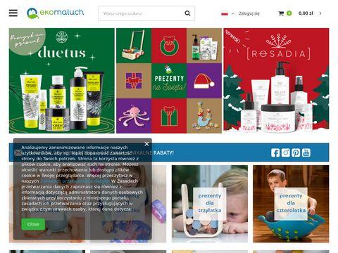Ekomaluch - pieluchy wielorazowe