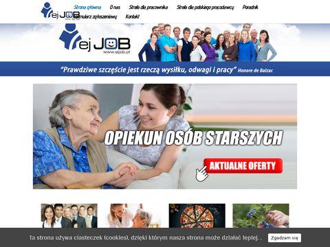 Ejjob.pl - opieka nad osobami starszymi