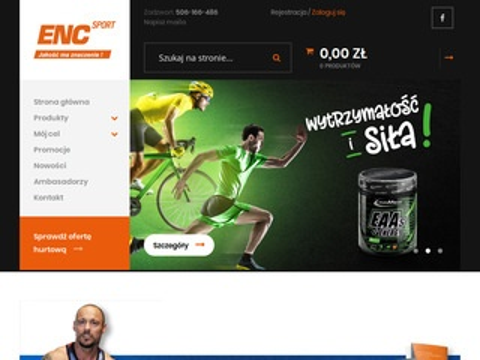 Encsport.pl białko kazeinowe