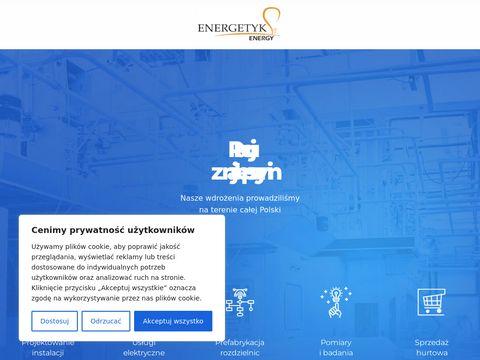 Energetykenergy.pl hurtownia elektryczna