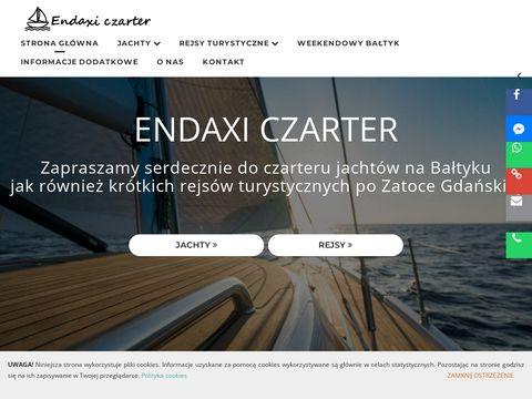Endaxiczarter.pl wynajmem jachtów Bałtyk