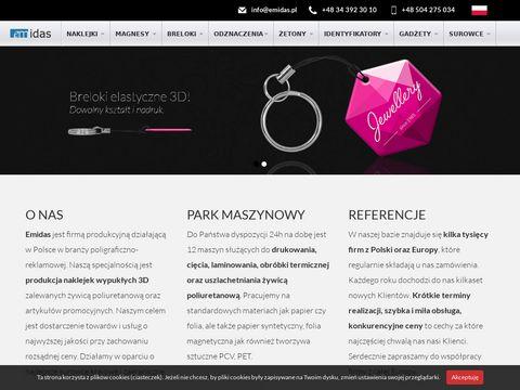 Emidas.pl materiały