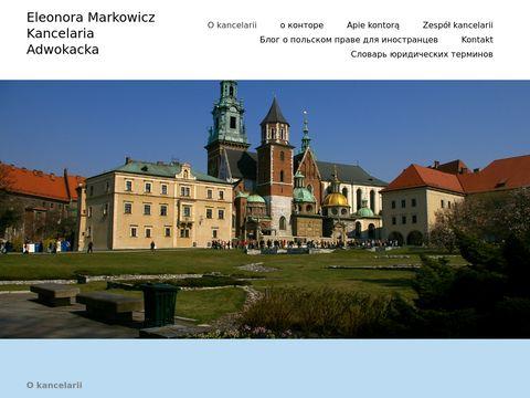 Emarkowicz.pl kancelaria adwokacka w Krakowie