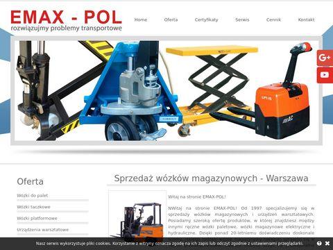 Emax-Pol urządzenia transportujące Warszawa