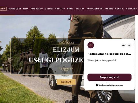 Elizjum S.Piotrowska usługi pogrzebowe w Warszawie