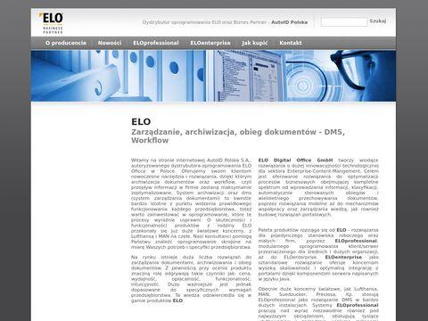 ELO Office - obieg dokumentów - Workflow