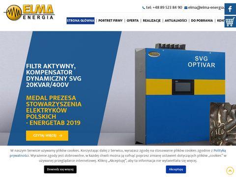 Elma-energia kondensator