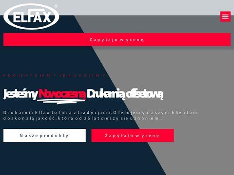 Elfax druk folderów Gdynia