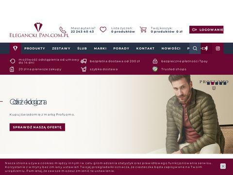 Elegancki Pan - Eleganckie koszule męskie, jedwabne krawaty i poszetki