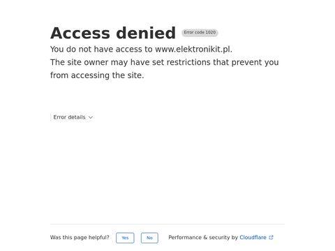 Elektronikit.pl elektronik Szczecin