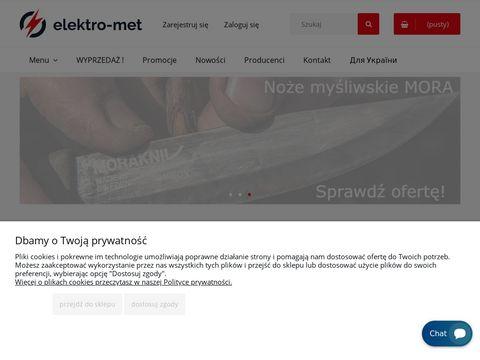 Elektro-Met.pl - internetowy sklep narzędziowy