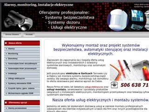 Elektryk-gorlice.pl instalacje elektryczne Gorlice