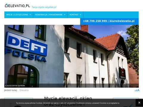Elevatio.pl - czyszczenie fasad