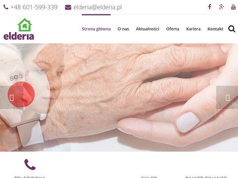 Elderia.pl - opieka osoby starszej